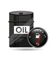 barrel oil concept industry automotive vector image