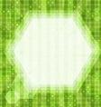 glare green light background vector image