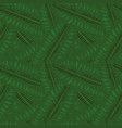 green leaves background seamless pattern vector image vector image