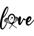 love on white background vector image vector image