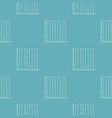 new chart pattern seamless vector image vector image
