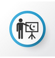 teaching icon symbol premium quality isolated vector image vector image