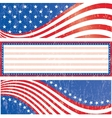 American flag stickers set vector | Price: 1 Credit (USD $1)