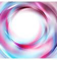 blue and purple glossy circles abstract hi-tech vector image vector image