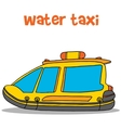 Collection of water taxi cartoon vector image vector image