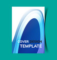 cover design template9 vector image