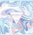 marble texture mix blue and pink paints vector image