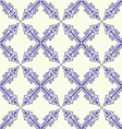 Seamless tille pattern vector image vector image