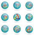 unique modern graphics design element vector image vector image