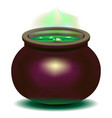 witch is a cauldron vector image vector image