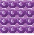 seamless background of purple gemstones vector image