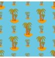 Palm geometric seamless pattern vector image