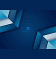 abstract background blue gradient geometric with vector image vector image