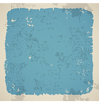 Blank damaged piece of paper vector image