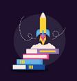 education supplies school vector image vector image