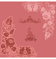 floral ornaments vector image