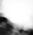 Grunge halftone smoke vector image