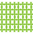 seamless background Green grid vector image vector image