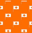 switzerland flag pattern seamless vector image vector image