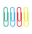 Colored paper clips clerical clothespin