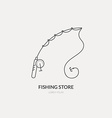 Fishing Gear vector image vector image