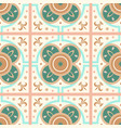 geometric arabesque oriental seamless pattern vector image vector image