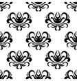 retro floral seamless pattern vector image vector image