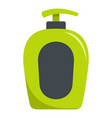 soap spray icon flat style vector image vector image
