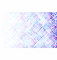abstract light violet and blue square background vector image