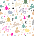 Christmas pattern85 vector image