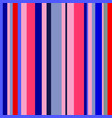 pink red coral navy stripes seamless pattern vector image vector image