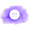 purple watercolor texture background vector image vector image