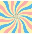 Retro sunburst background vector image