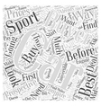 SC choosing the best sports car Word Cloud Concept vector image vector image