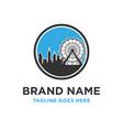 urban building logo vector image vector image