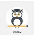 Wisdom vector image