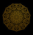 beautiful mandala decorative element vector image