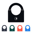 Modern Padlock Icon vector image vector image