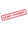 Saint Vincent Rubber Stamp vector image vector image