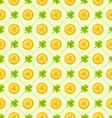 Seamless Pattern with Clovers and Golden Coins for vector image vector image