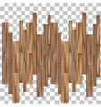 seamless texture parquet board deck layout vector image vector image
