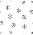 snowflake seamless pattern background business vector image
