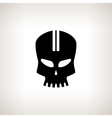Sport Moto Speed Skull Isolated vector image vector image