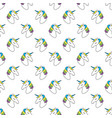 unicorn seamless pattern childish pattern for vector image vector image