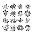Fireworks icon isolated vector image