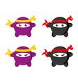 ninja vector image vector image