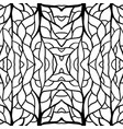 root pattern vector image vector image