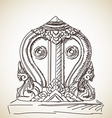 symbol buddhism vector image