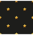 Gold Star Universal seamless patterns vector image