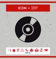 cd dvd symbol icon vector image vector image